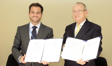 Pacchiano Alamán e Ivo De Boer firman instrumentos jurídicos para apoyar la transición hacia una economía baja en carbono en la región latinoamericana