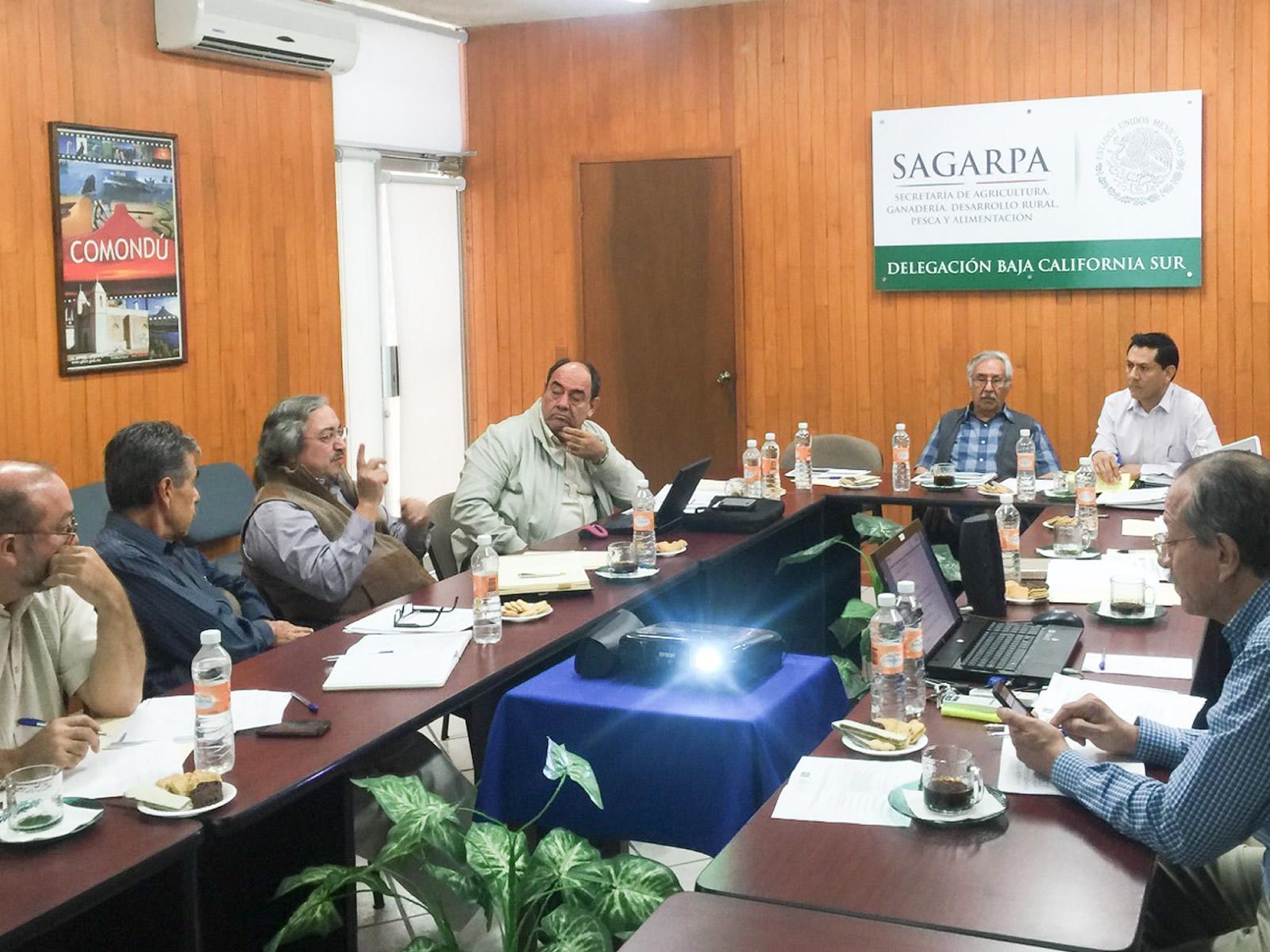 Con la representación del comisionado Mario Aguilar Sánchez, asistió a la sesión el director general adjunto de Ordenamiento Pesquero y Acuícola,  Raúl Villaseñor Talavera.