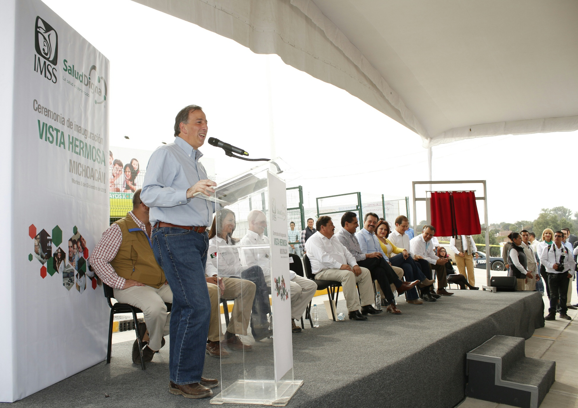 """Mensaje del secretario José Antonio Meade Kuribreña, durante la firma del convenio """"Acuerdo por un Michoacán sin Pobreza"""""""