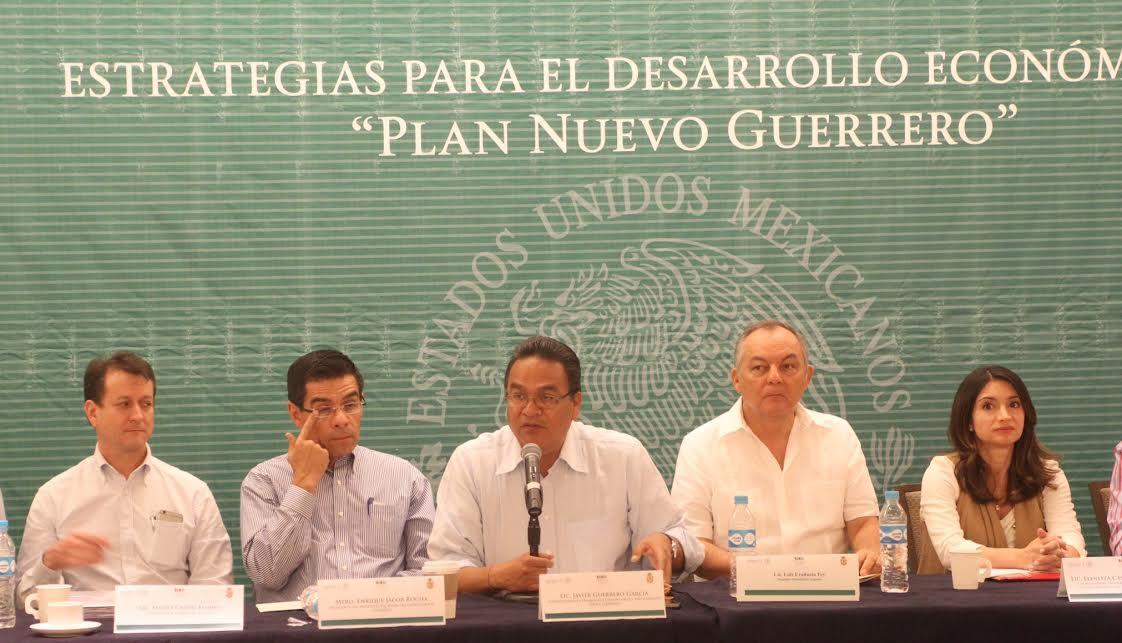 Presentan Estrategias para impulsar el Desarrollo Económico de Guerrero