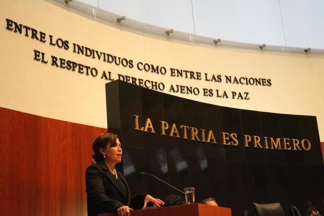 Debe debatirse sobre el salario mínimo, sin banderas políticas: Rosario Robles