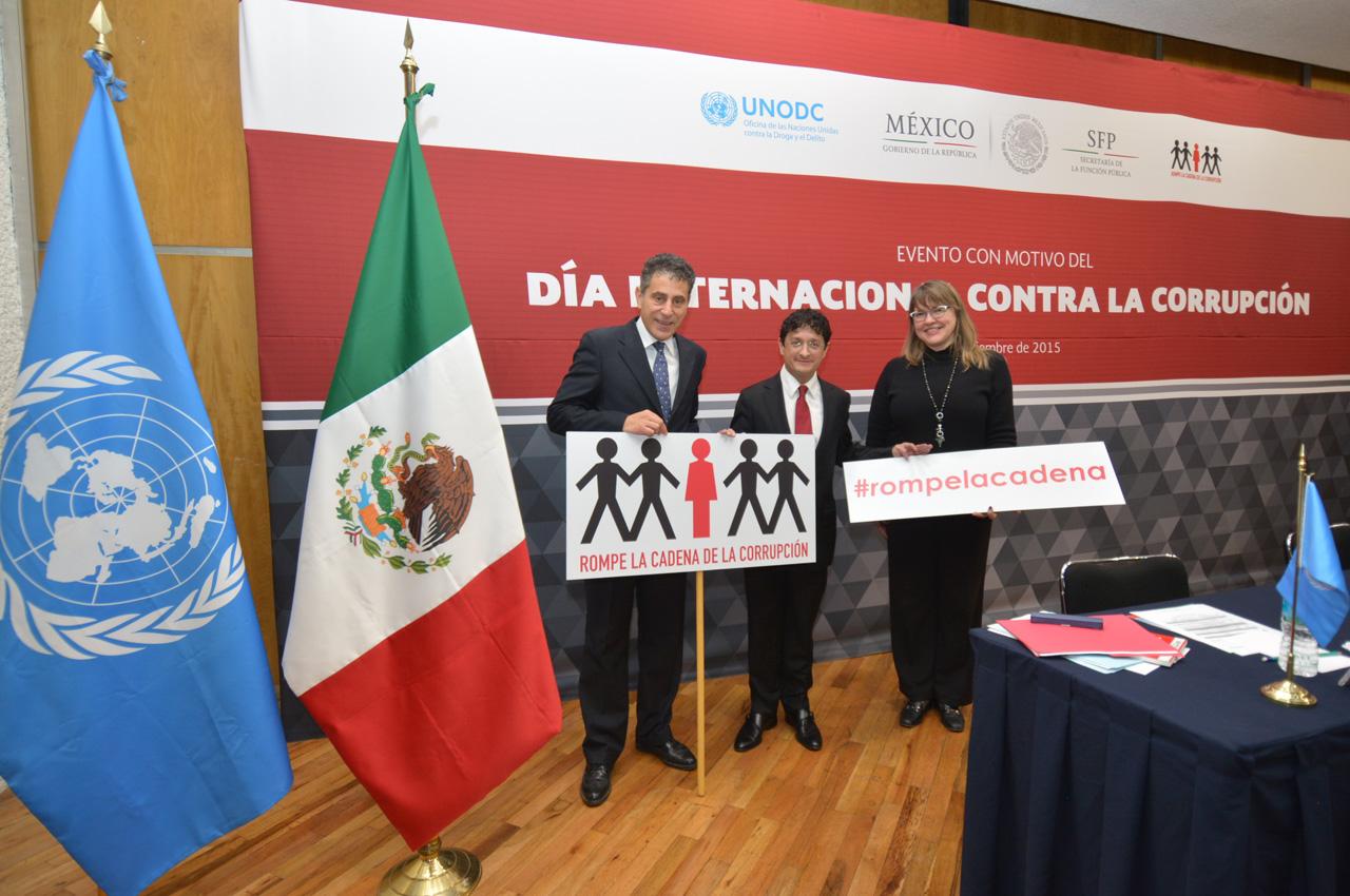 Evento con motivo del Día Internacional contra la Corrupción.