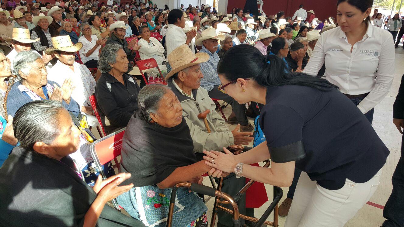 La Sedesol impulsa sus programas sociales para el desarrollo en Oaxaca.