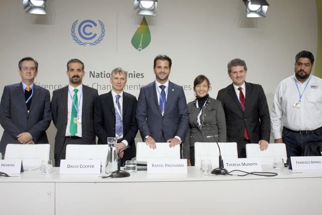 En la cumbre de París se enfatiza el papel de la biodiversidad como solución al cambio climático