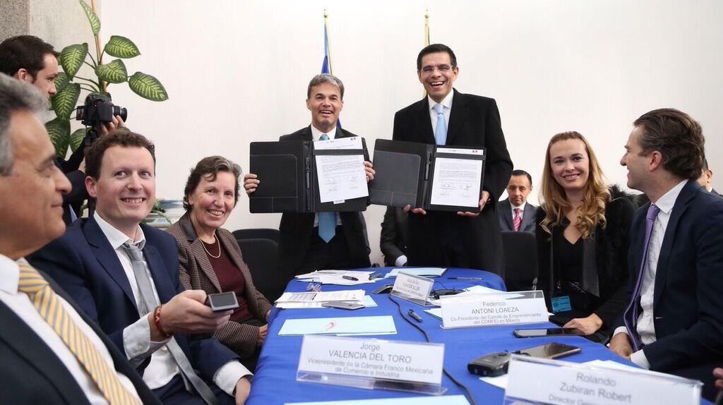 Business France y el INADEM firman acuerdo para la creación del Consejo México-Francia para el Emprendimiento e Innovación