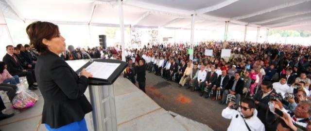 Recorrido de Trabajo por la Delegación Cuajimalpa