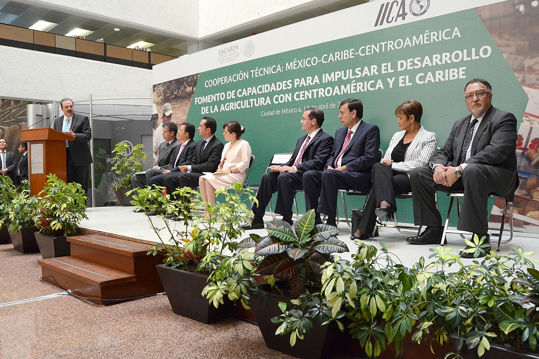 Amplía México cooperación técnica en agricultura con países de Centroamérica y el Caribe.