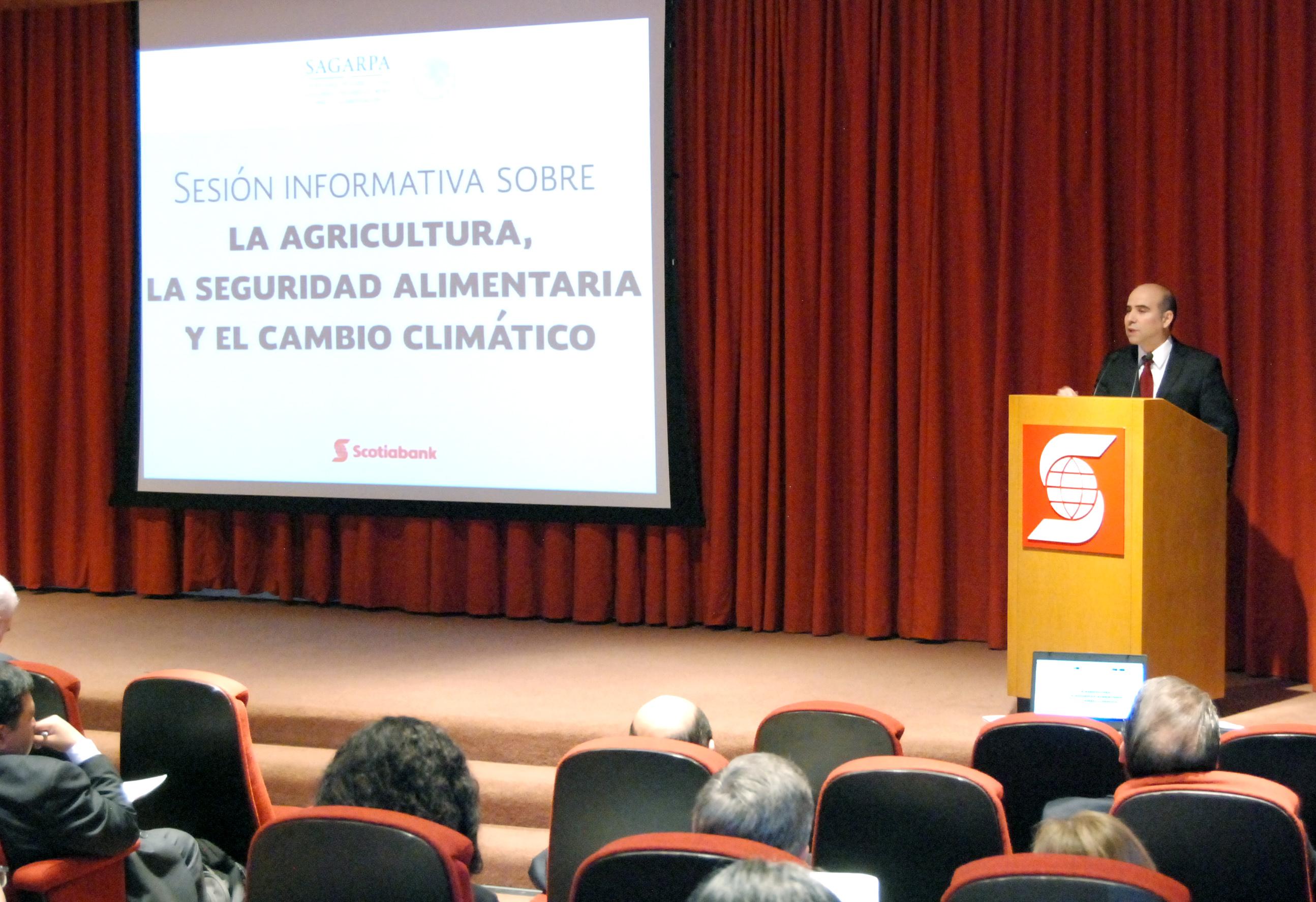 Intercambian especialistas estudios sobre agricultura, seguridad alimentaria y cambio climático.