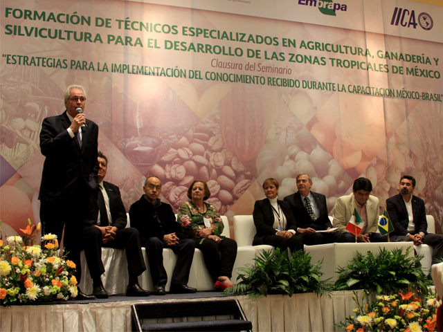 Extensionistas de Yucatán, Campeche, Quintana Roo, Tabasco, Chiapas, Veracruz, Oaxaca y Guerrero se capacitaron en cultivos tropicales.