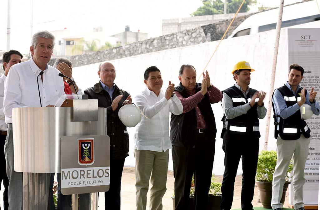 Realiza la SCT inversión de 4 mil 500 mdp, para conectar a la Ciudad de México con el sur del país