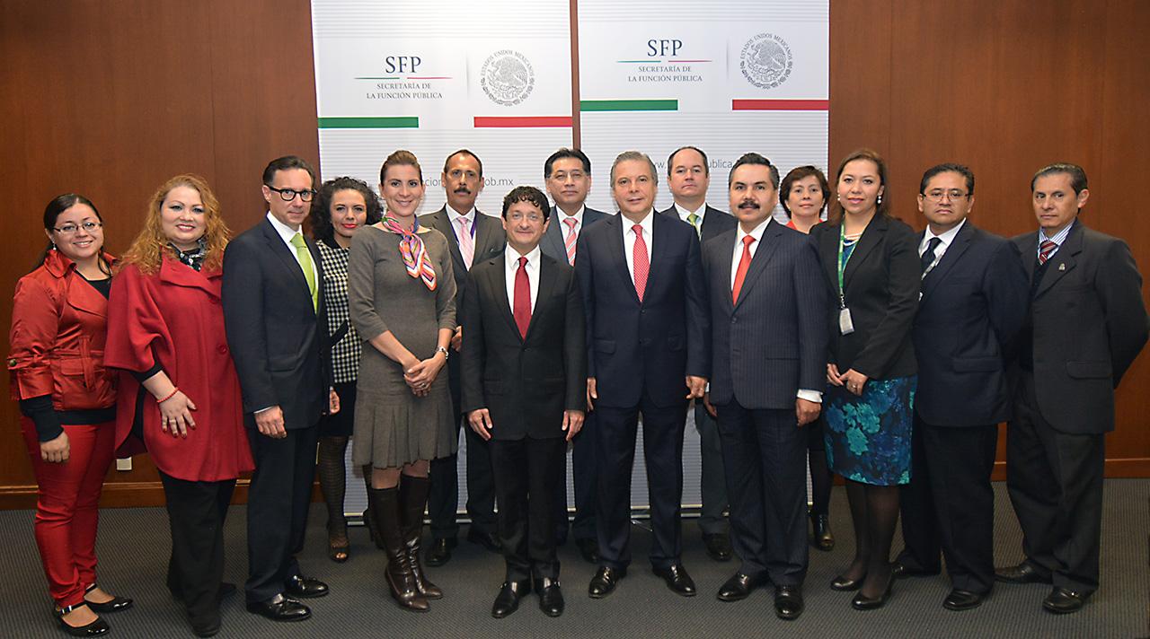 Instalación del Comité de Ética y de Prevención de Conflictos de Interés de la SFP para el período 2016-2017.