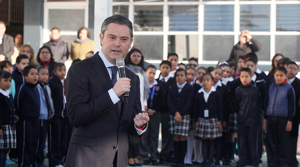 Entrevista al secretario de Educación Pública, Aurelio Nuño