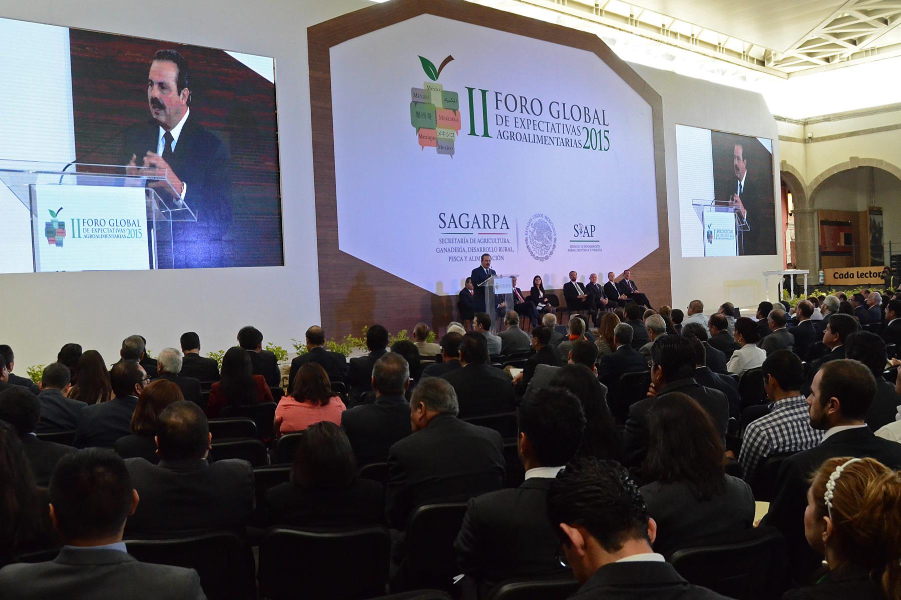 Impulsa México sistemas de información agroalimentaria; inciden en mejor planeación y ordenamiento de mercados.