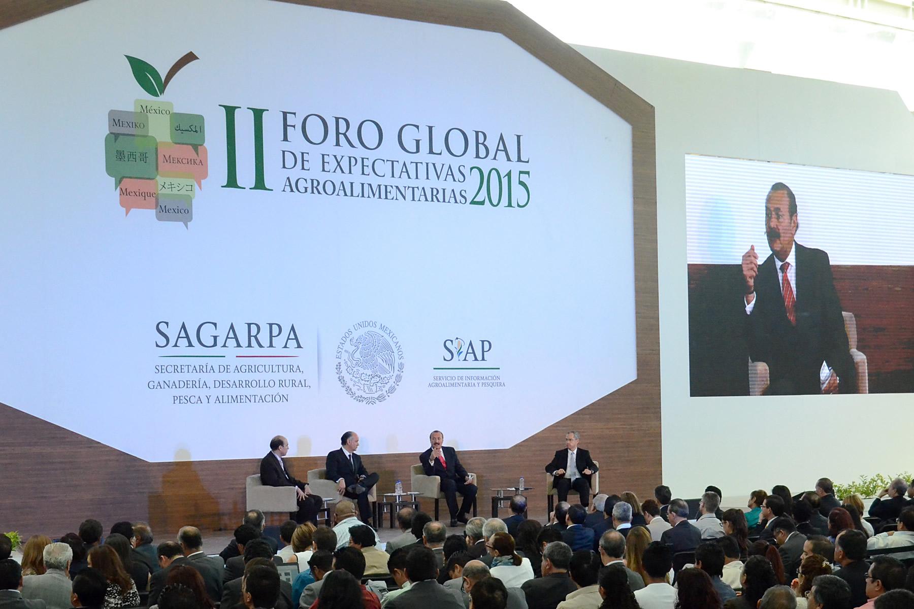 Financiamiento diferenciado y a largo plazo, factor para desarrollo del sector productivo, coinciden en FORO SIAP-SAGARPA.