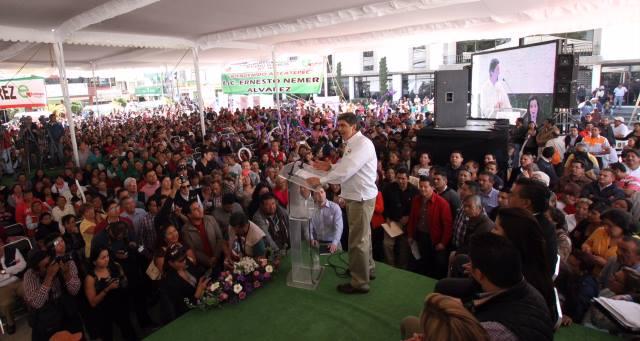 El subsecretario de la Sedesol Inauguró el Comedor Comunitario número 48, en Ecatepec