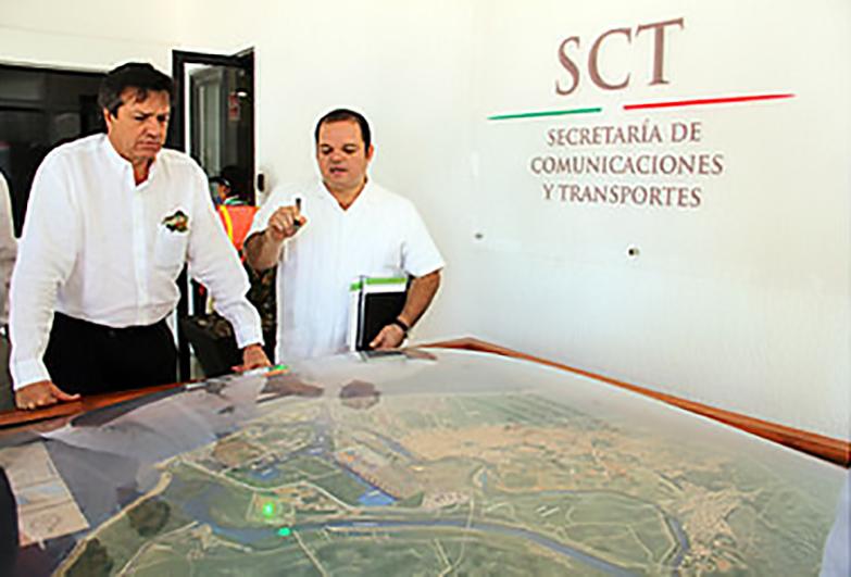 Supervisa Ruiz de Teresa obras en Lázaro Cárdenas