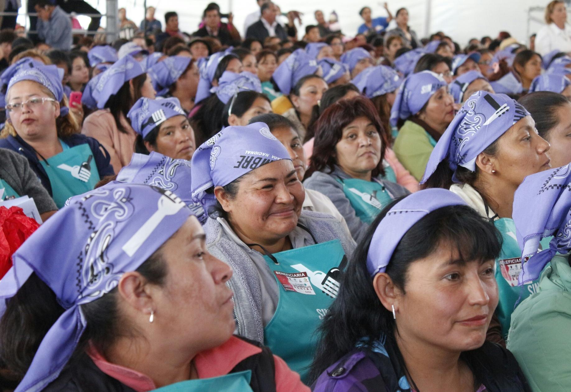 Sedesol y Edomex por un México sin pobreza