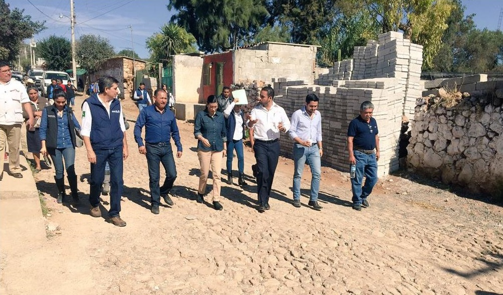La subsecretaria Vanessa Rubio Márquez realizó su primera visita de trabajo al estado de Querétaro