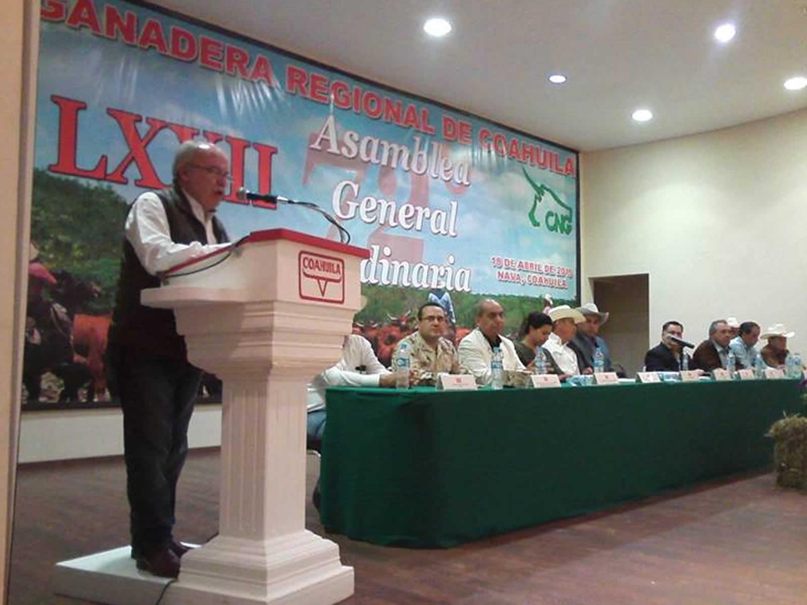 Realizan asamblea general de la Unión Ganadera Regional de Coahuila.