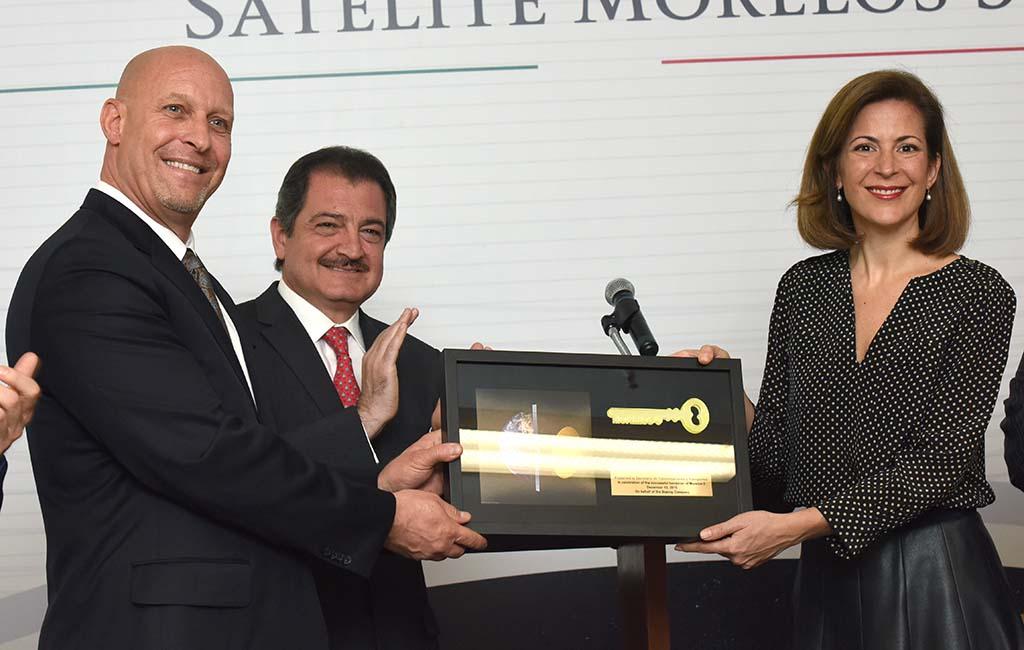 El Gobierno Mexicano asume control del satélite Morelos 3
