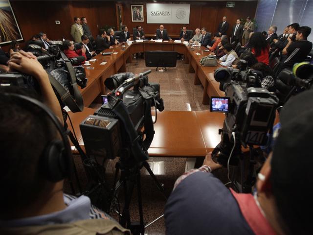 El titular de la SAGARPA informó en conferencia de prensa  que este año el sector primario cerrará con buenos números.