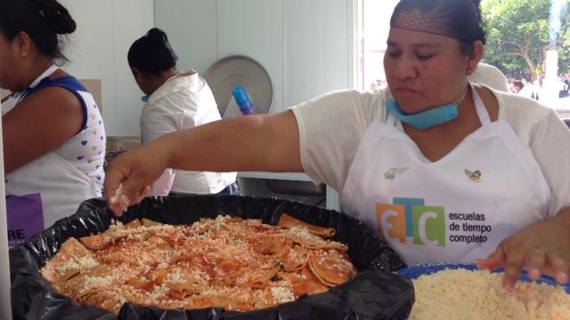 Comedores Comunitarios Escolares en Hidalgo