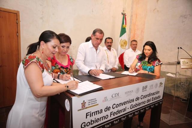 Convenio Sedesol-Gobierno de Oaxaca-CFE