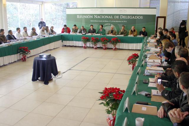 Pacchiano Alamán pidió a los delegados de la PROFEPA seguir siendo el ejemplo del sector ambiental
