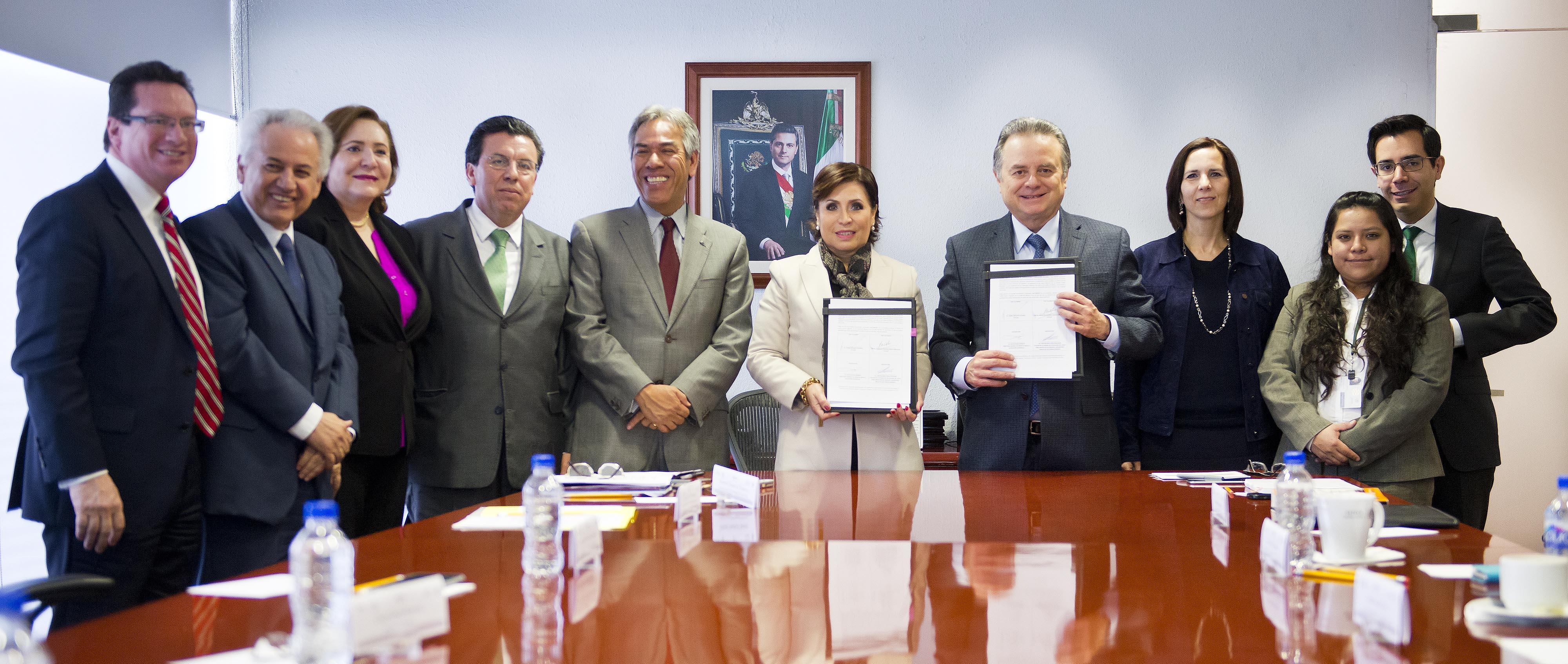 Firman SENER y SEDATU convenio para facilitar la negociación de contratos energéticos