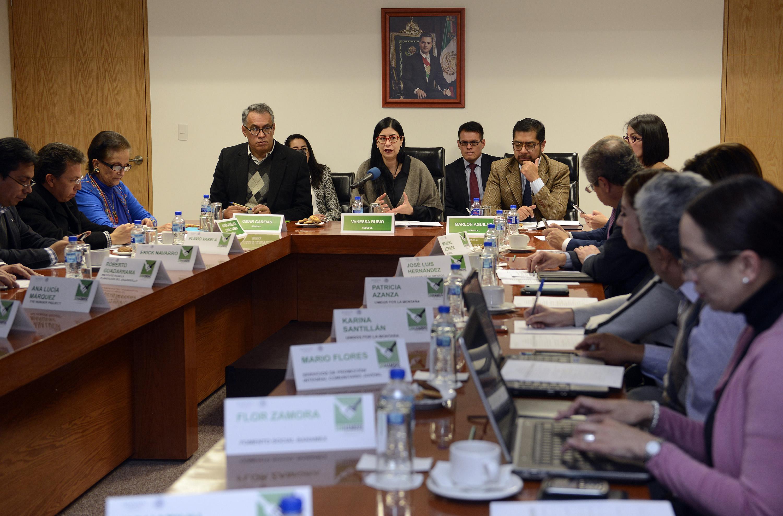 La subsecretaria Vanessa Rubio presidió la segunda sesión ordinaria 2015 del Consejo Nacional de la Cruzada contra el Hambre