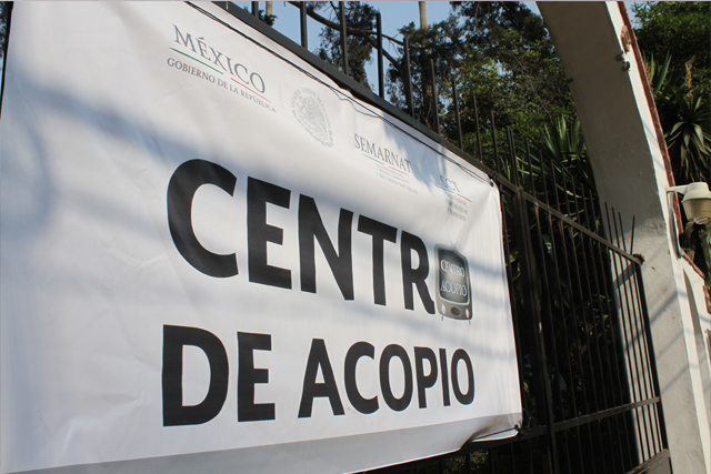 En el DF se cuenta al momento con cuatro centros de acopio y en los próximos días se habilitarán más espacios en diferentes delegaciones