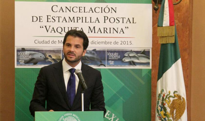 El Secretario Pacchiano expresó que el sello será un instrumento para difundir la riqueza natural de México