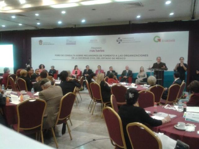 Consulta sobre Mecanismos de Fomento a las Actividades de las Organizaciones de la Sociedad Civil (OSC)