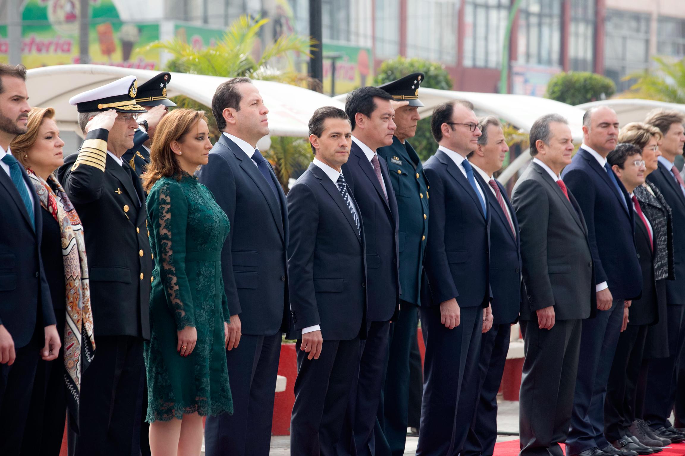 El Primer Mandatario encabezó el 200º Aniversario Luctuoso del Generalísimo Don José María Morelos y Pavón.