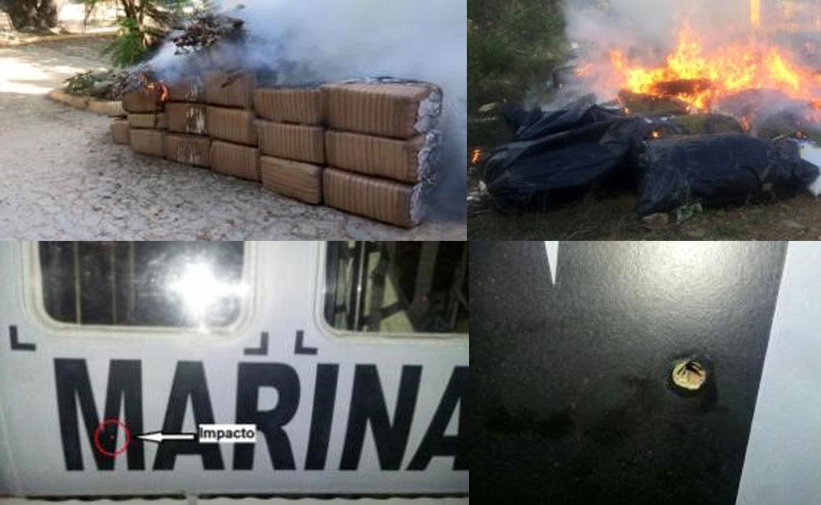 LA SECRETARÍA DE MARINA-ARMADA DE MÉXICO INFORMA SOBRE AGRESIÓN A PERSONAL NAVAL EN SINALOA