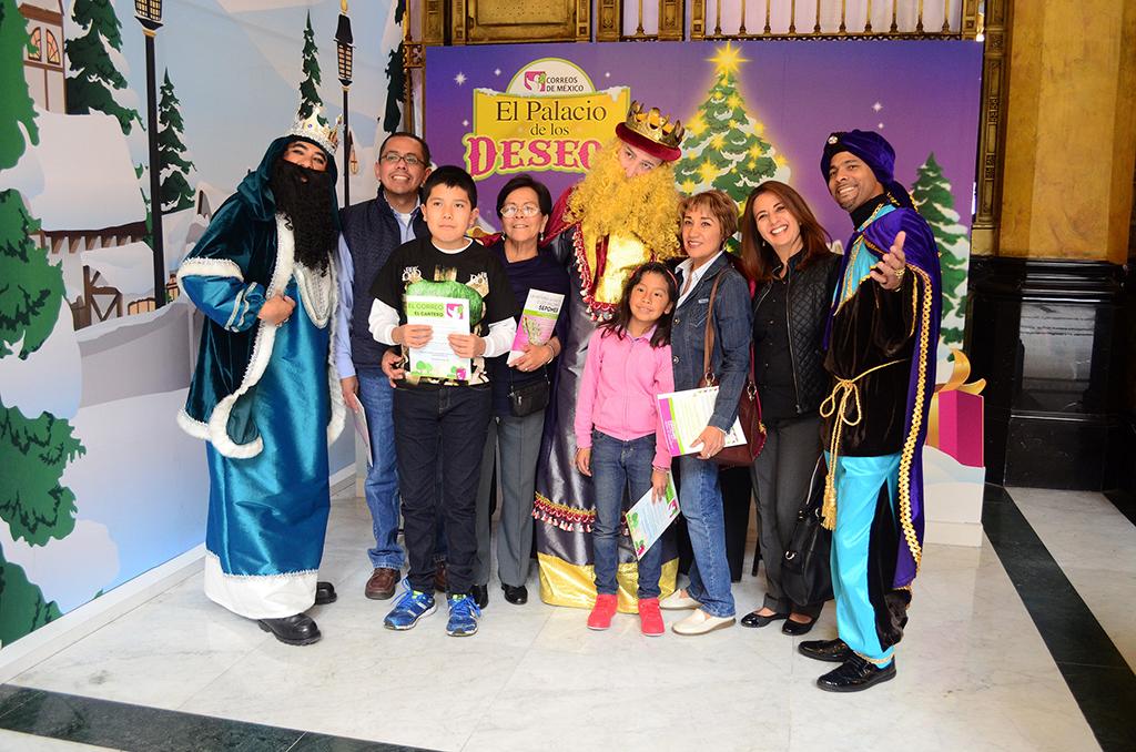 Invita Correos de México a todos los niños a escribir y enviar sus cartas a los reyes magos
