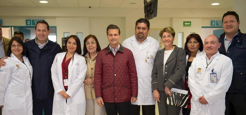 El Primer Mandatario inauguró el Hospital Comunitario de Chiconcuac, el Centro Estatal de Rehabilitación y Educación Especial de Toluca y el Centro de Atención a Personas con Discapacidad Visual de Naucalpan.
