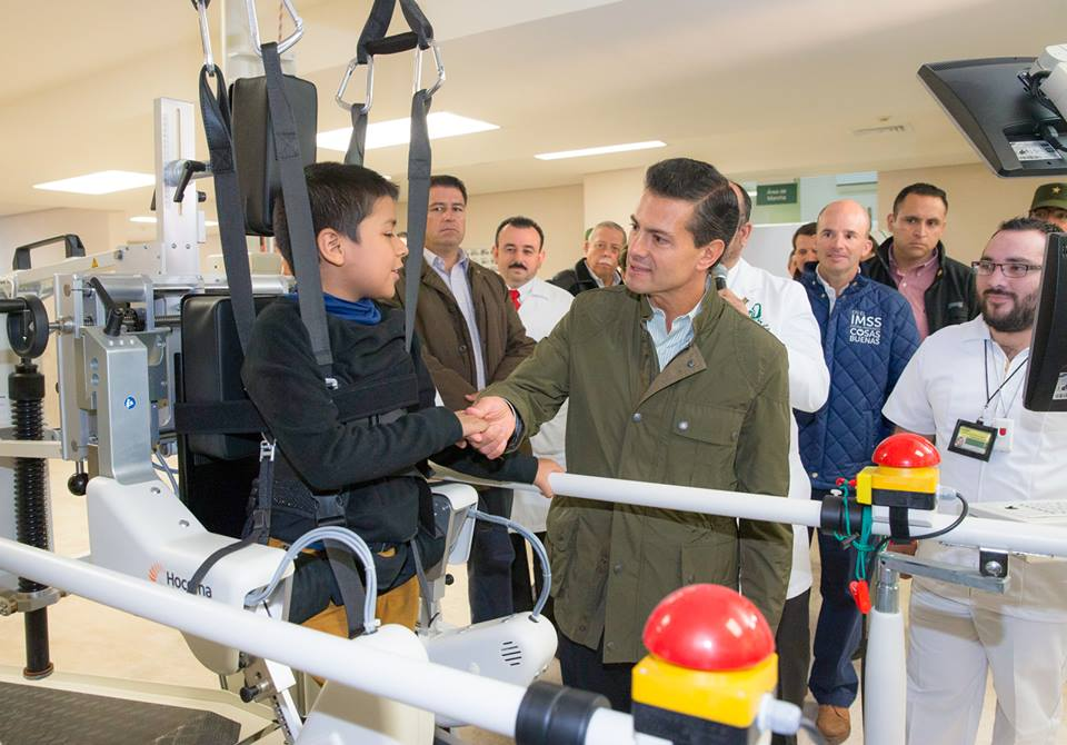 The president inaugurated Regional General Hospital 270 belonging to the Mexican Social Security Institute (IMSS) and Tampico General Hospital.