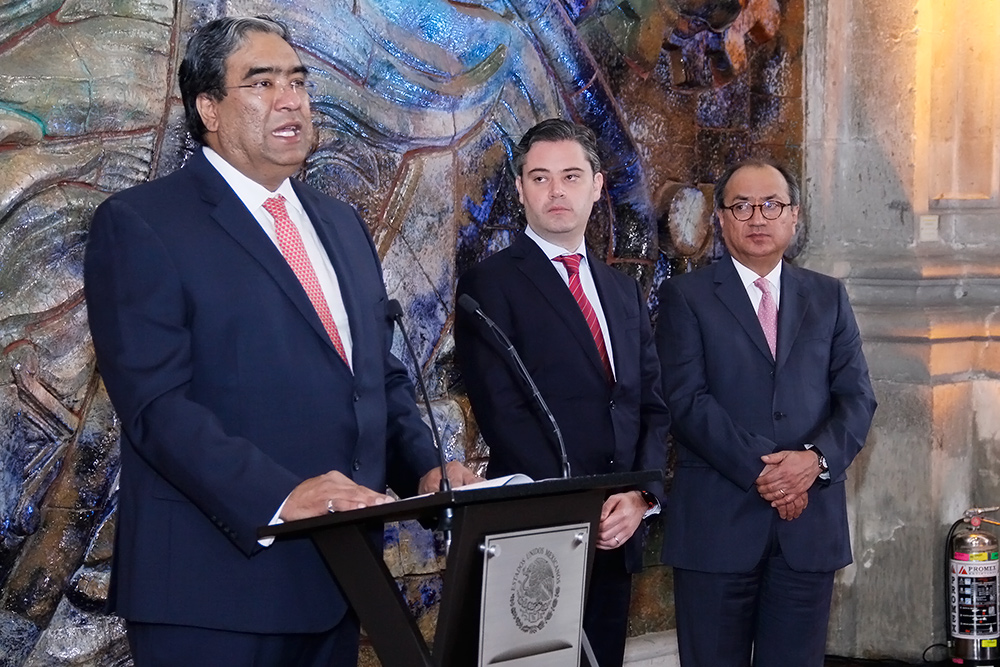 Mensaje del nuevo director general del INEA, Mauricio López Velázquez