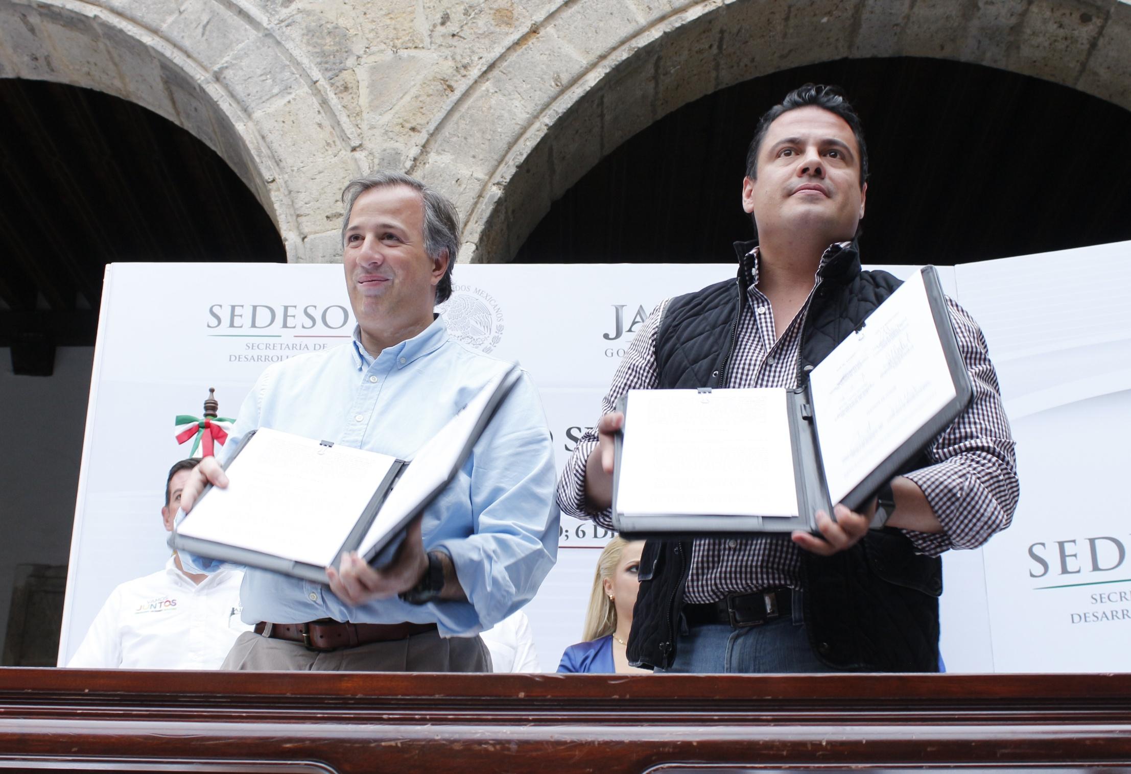 El secretario Meade en el marco de su gira de trabajo en el estado de Jalisco