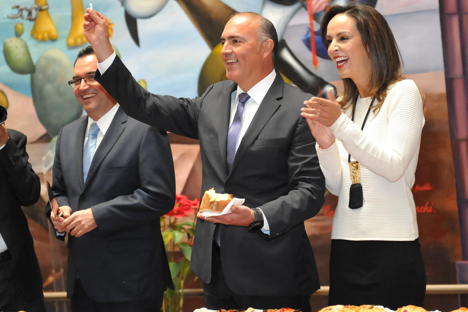 Exhorta José Calzada Rovirosa a trabajar en unidad y a favor de los productores del campo.