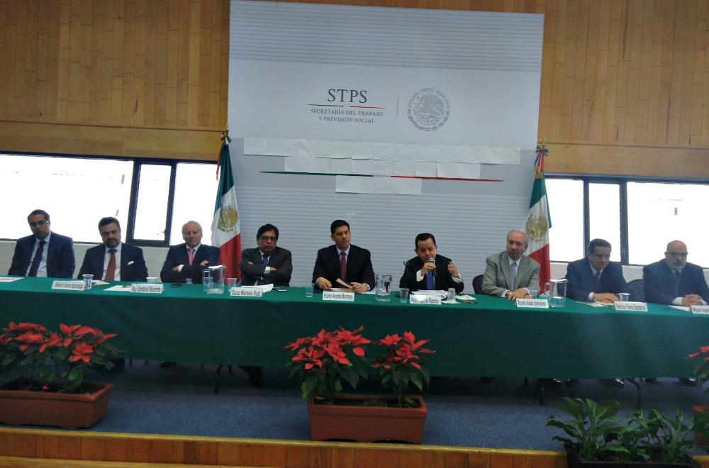 Instalan en STPS Convención Revisora del Contrato Ley de la Industria de la Radio y la Televisión