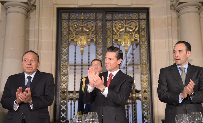 El Presidente Peña Nieto clausuró la 27ª Reunión de Embajadores y Cónsules.