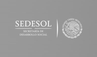 Sedesol y gobierno del Estado de México sumarán a los municipios mexiquenses a la Estrategia de Inclusión Social