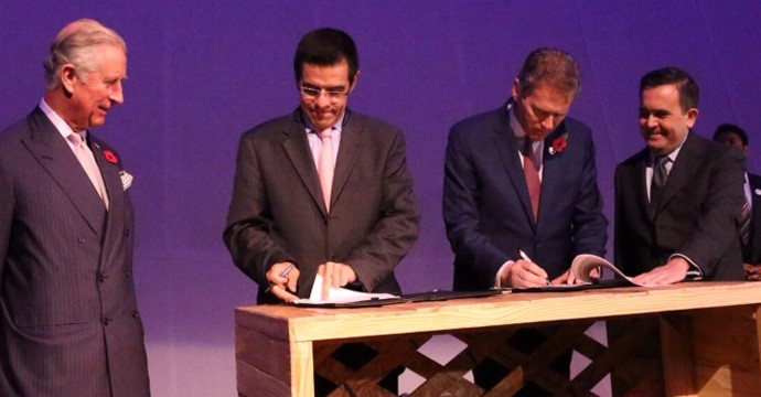 The Secretariat of Economy and the Department of Business, Innovation and Skills of the United Kingdom sign memorandum of understanding