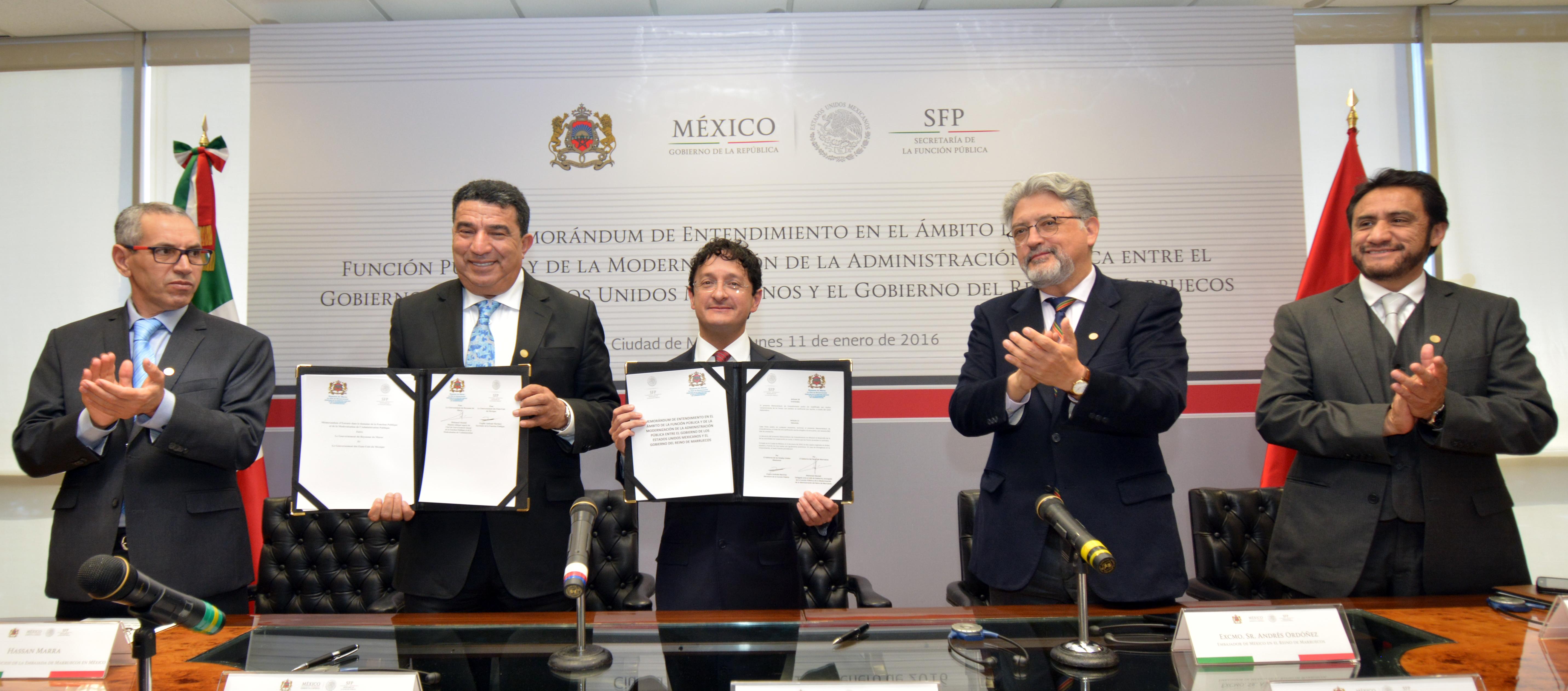 México y Marruecos firman Memorándum de Entendimiento