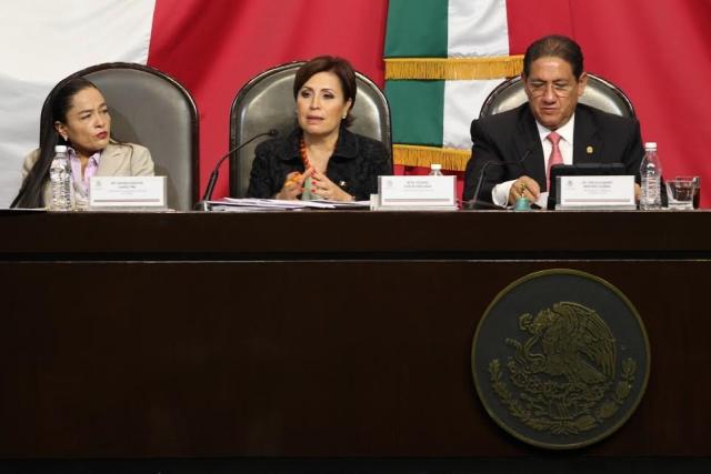 La estrategia es fortalecer el desarrollo de capacidades y el ingreso de millones de mexicanos, señala la Titular de la Sedesol en su comparecencia ante los diputados.