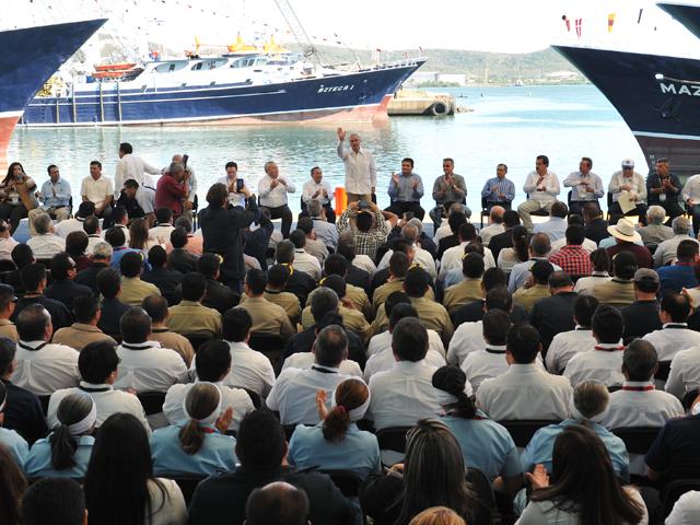 Invertirá SAGARPA más de tres mmdp en el sector pesquero y acuícola en 2016.