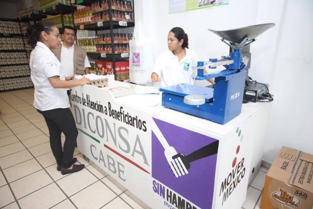 Baja el precio de la harina de maíz en los Centros de Atención a Beneficiarios (CABE)