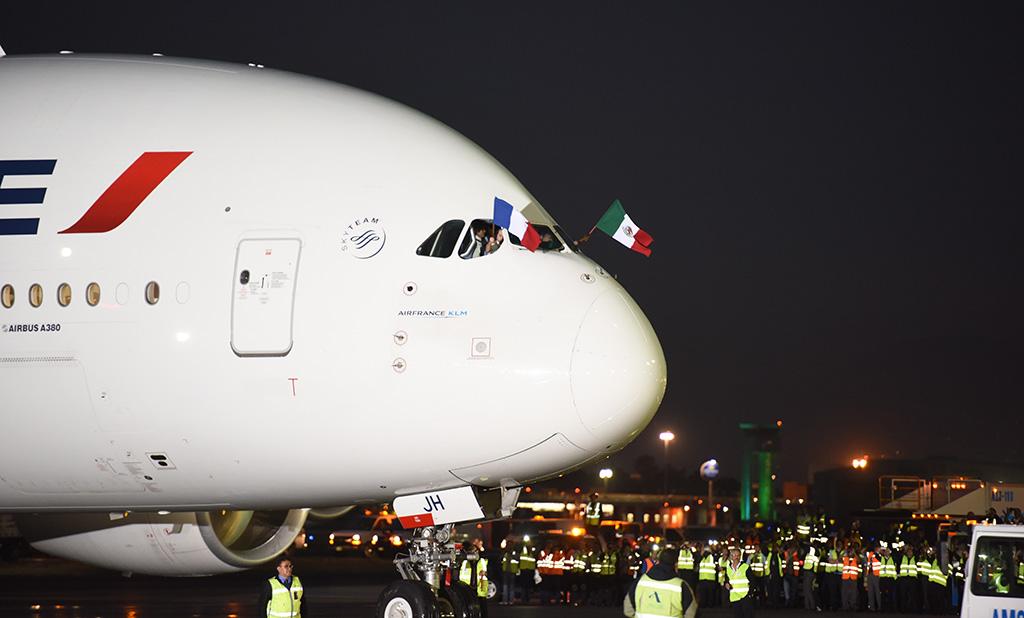 Arribo de AIRBUS A380 da mayor conectividad a México y lo posiciona como punto estratégico a nivel mundial